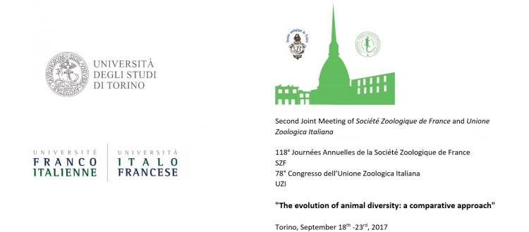 Proroga termini di iscrizione: Second Joint Meeting of Société Zoologique de France and Unione Zoologica Italiana
